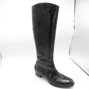 Arezzo Size 9 B Heels Side Zip Riding Boots Womens